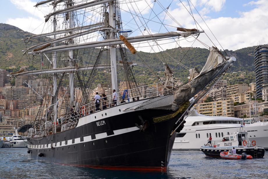 Le célèbre voilier de légende est arrivé à Monaco ce mercredi après-midi. Ce sera l'une des vedettes de la Classic Week.