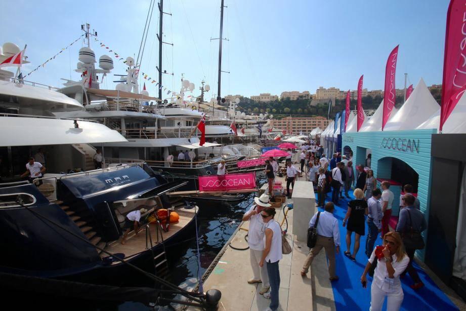 Les plus somptueux yachts du monde sont à Monaco jusqu'à samedi.