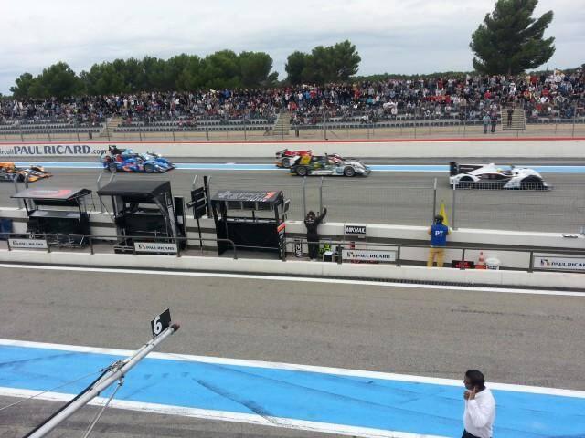 La présence d'Alpine, l'événement de l'édition 2013 des World Series Renault au circuit Paul-Ricard du Castellet.