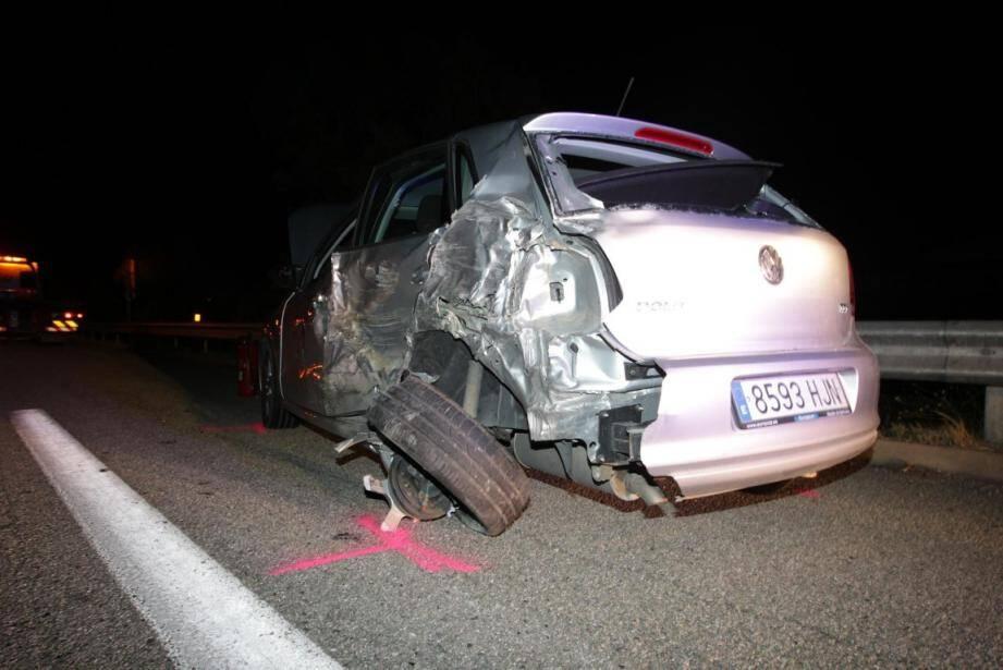 Un accident impliquant cinq véhicules a fait un mort ce lundi soir vers 23h sur l'A8, à hauteur de la commune de Roquebrune-sur-Argens.