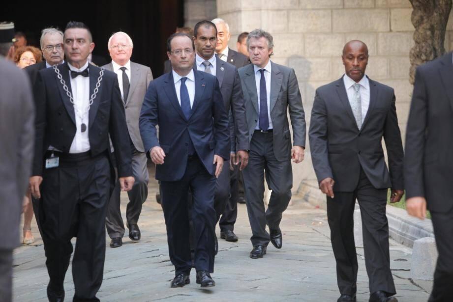 François Hollande a donné samedi à Nice le coup d'envoi des 7es Jeux de la Francophonie.