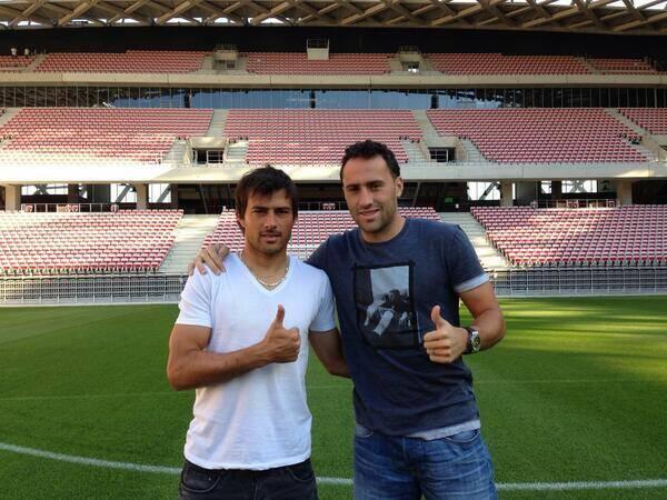 Dario Cvitanich et David Ospina comme à la maison