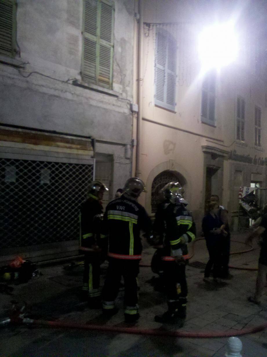 incendie toulon centre ville