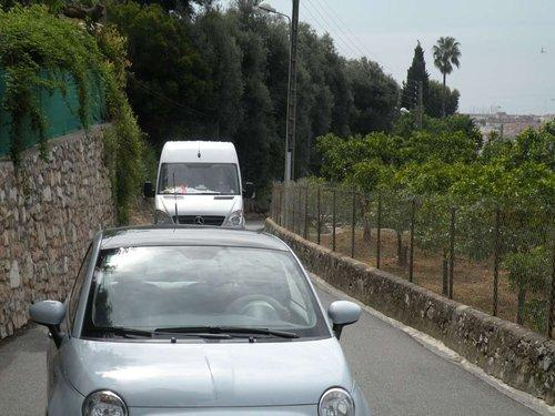 Le chemin Notre-Dame à Vallauris, lieu du drame sauvage qui a coûté la vie à un homme de 33 ans.