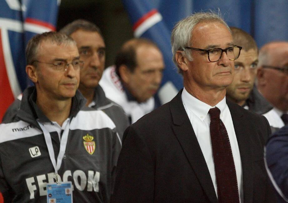 L'entraîneur de l'AS Monaco ne regardera pas OM-PSG: c'est l'anniversaire de Mme Ranieri.