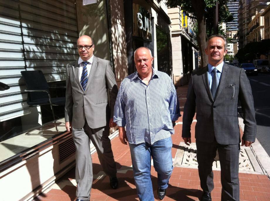 Jean-Michel Rapaire, Eric Elena et Thierry Raymond s'inquiètent pour la conservation du patrimoine de la SBM mais se disent « confiants » sur le volet social.