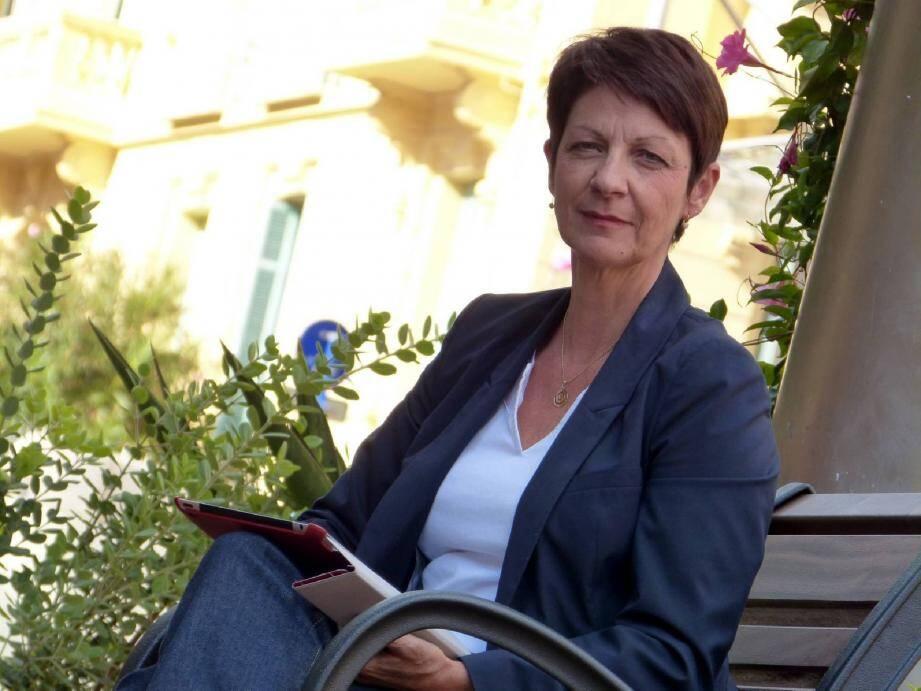 La vice-présidente mentonnaise de la Région veut prendre la tête d'une liste « ouverte ».