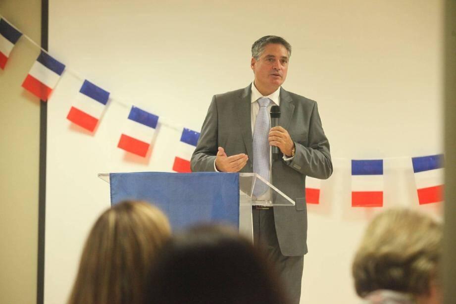 Raymond Lévy, le candidat de la droite sans concession, entend « remettre Saint-Laurent-du-Var à l'endroit » face à « l'immobilisme de l'équipe Revel »