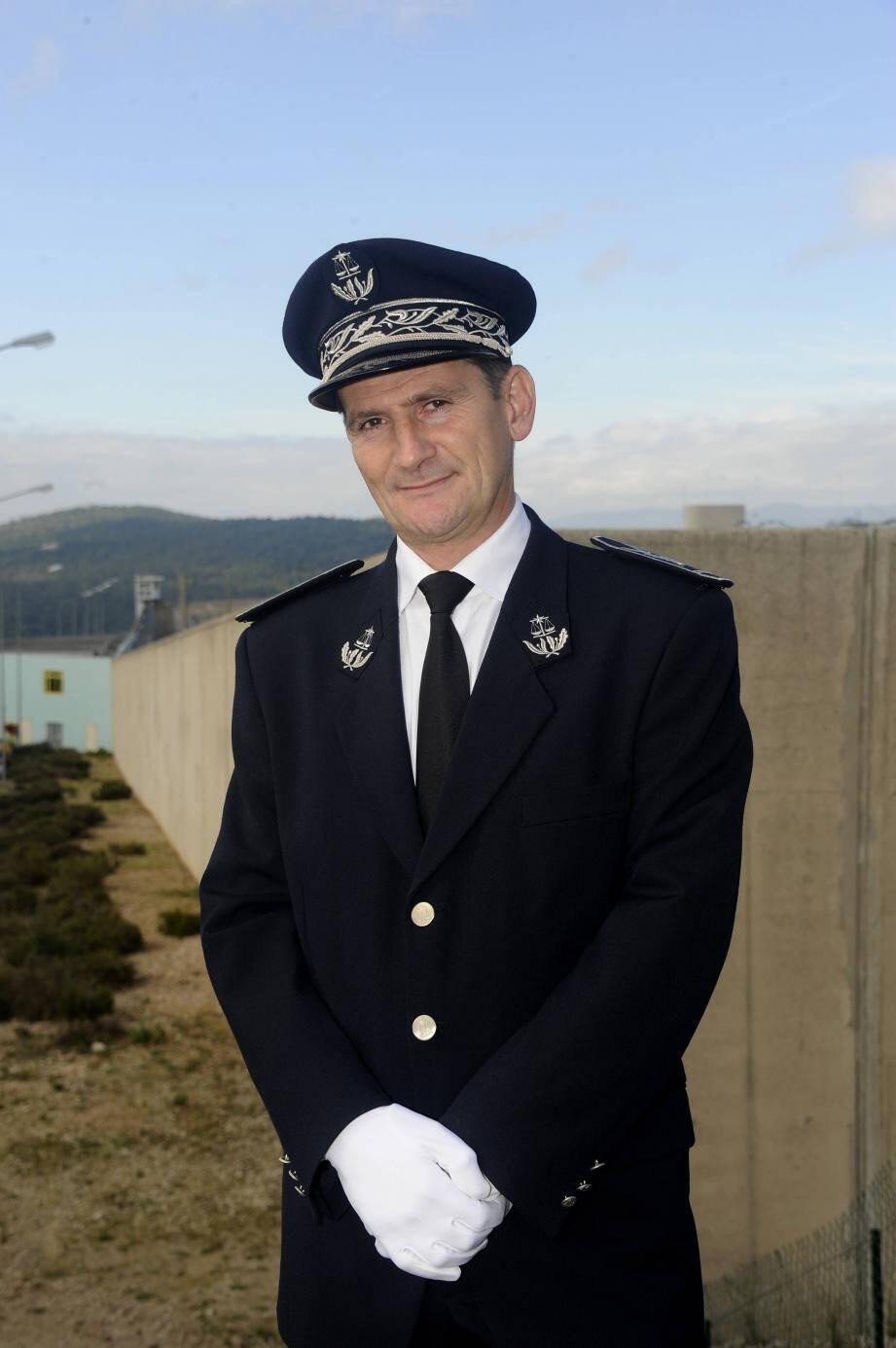 Guillaume Piney est le nouveau directeur de la maison d'arrêt de Grasse.