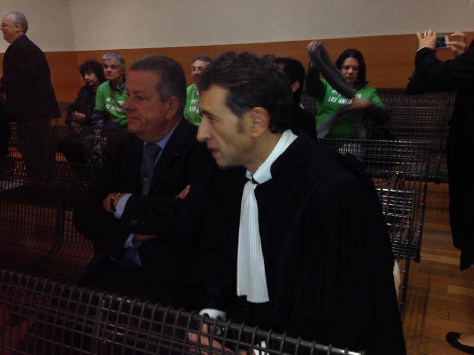 L'adjoint au maire de Nice Joseph Calza prévenue dans l'affaire de la SDA.