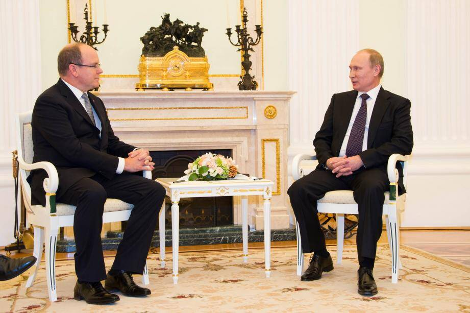 Les deux chefs d'Etat se sont entretenus devant la presse, puis lors d'un déjeuner privé.