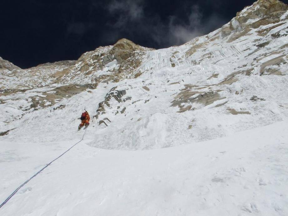 Deux alpinistes azuréens à l'assaut de l'Annapurna.