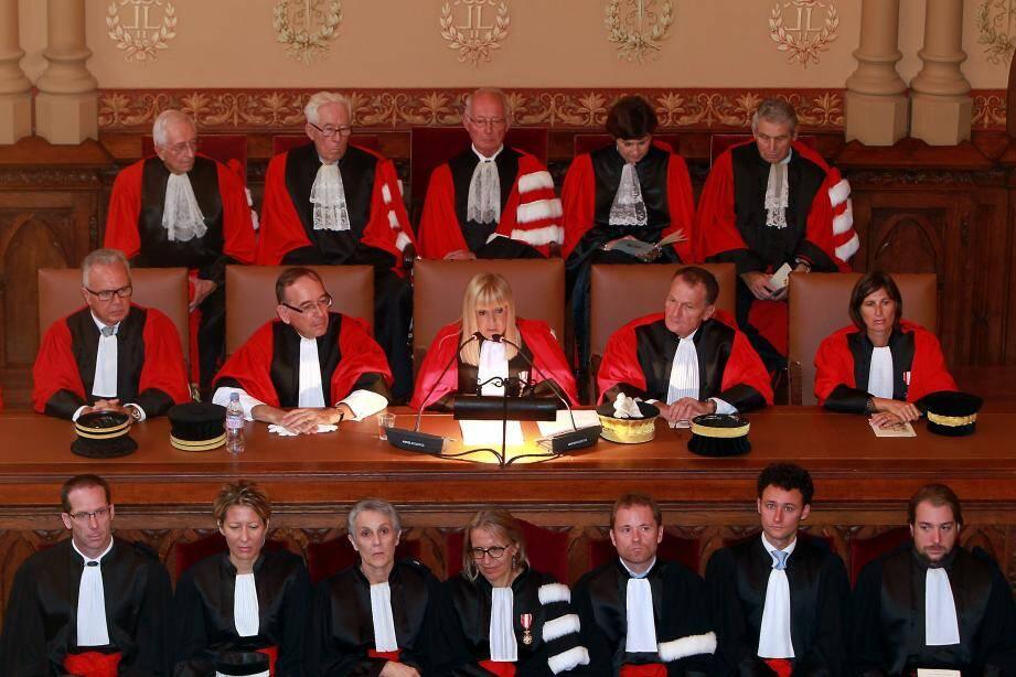 Rentrée solennelle palais de justice Monaco