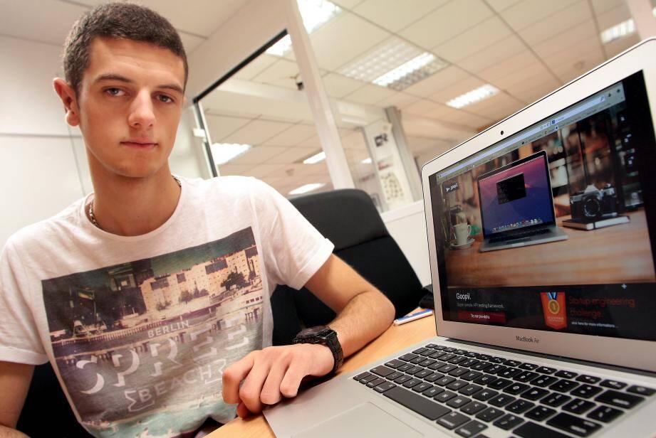 La start-up que Romain a développée avec Mohamed a été primée par l'université américaine.Une fierté pour les deux jeunes Français encouragés par Fleur Pellerin.