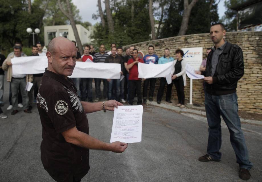 Les salariés de l'unité éditique ont fait une grève surprise hier.