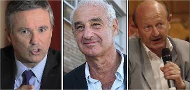 Nicolas Dupont-Aignan, Henri Weber et Jean-Luc Bennahmias débattront sur l'Europe le 7 novembre.