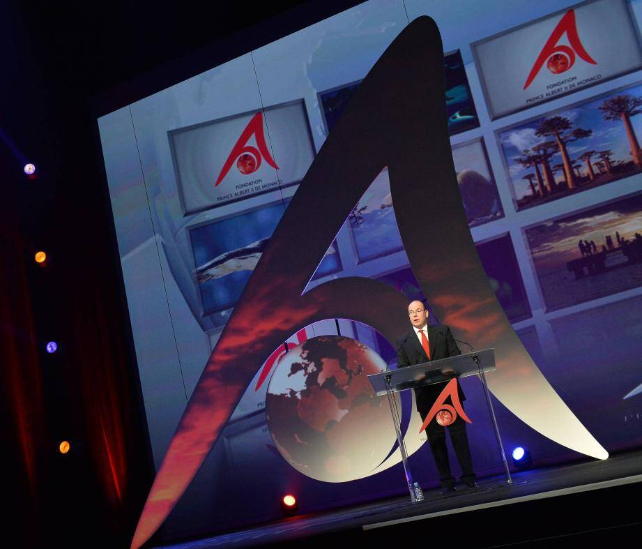 Le prince Albert II a décerné hier soir les trois awards emblématiques des actions de sa fondation, au cours d'une cérémonie au Grimaldi Forum.
