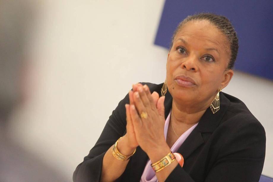 Christiane Taubira passionnée face aux lecteurs de Nice-Matin