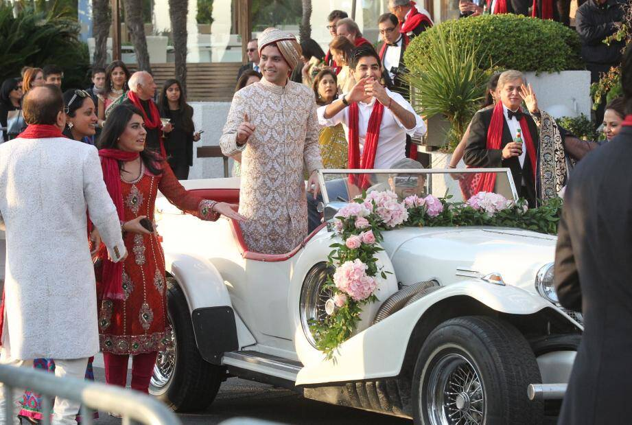 mariage indien cannes