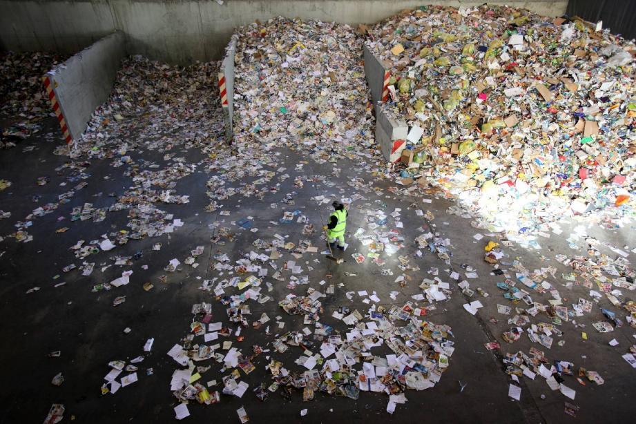 La moyenne nationale est de 49,9 kg de déchets recyclés par habitant.