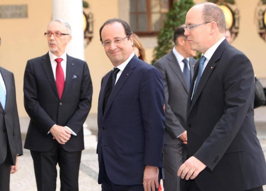Hollande Albert Monaco