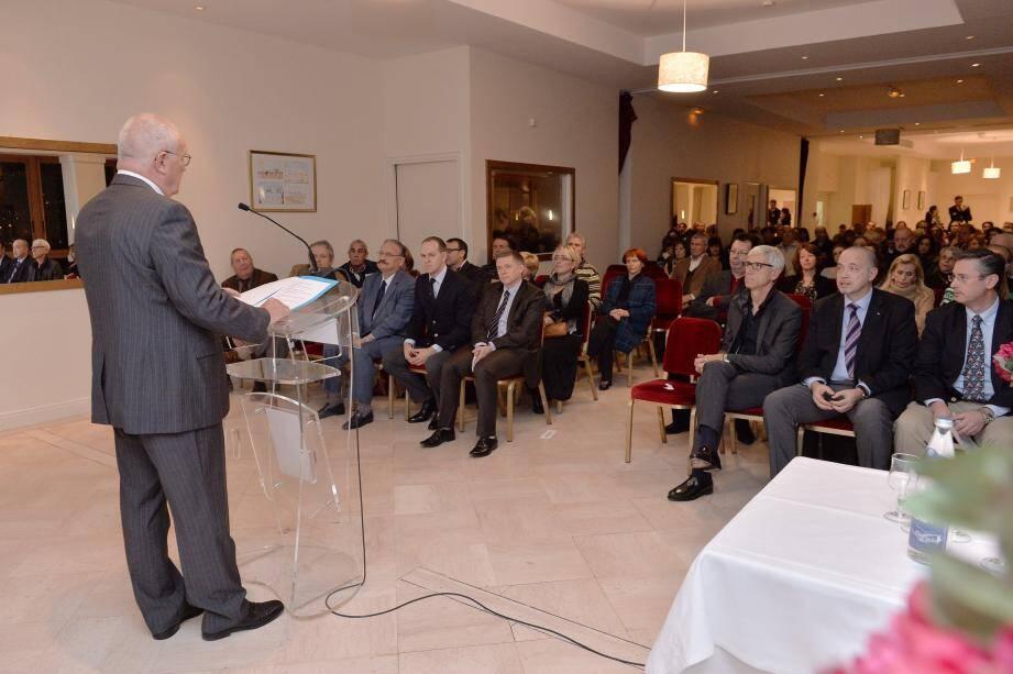 Patrick Rinaldi (photo ci-dessous), le président de l'UP, n'a pas manqué de souligner le bon fonctionnement de la majorité Horizon Monaco.