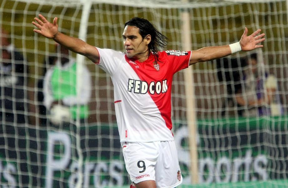 Le buteur colombien de l'AS Monaco, Radamel Falcao.