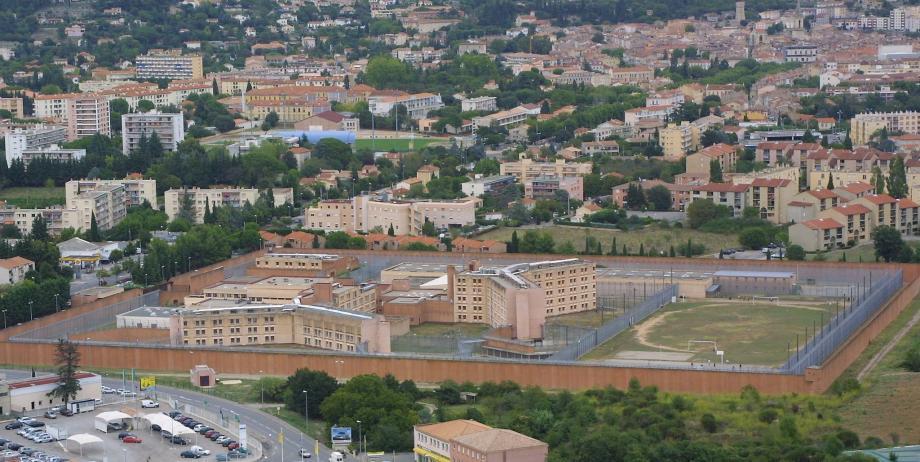 L'ancienne prison de Draguignan (aujourd'hui fermée) où s'est déroulée la spectaculaire évasion par hélicoptère en 2001.