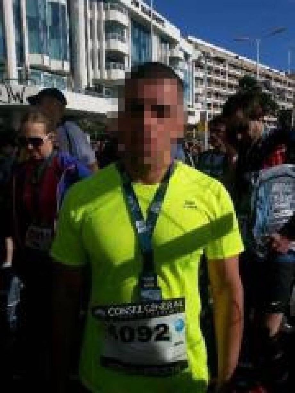 Un ex-détenu s'est aligné sur le marathon.