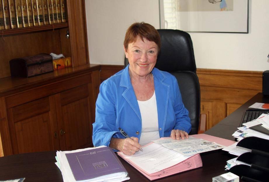 Françoise Brousteau, 71 ans, souhaite continuer le travail à long terme déjà lancé sur la commune.