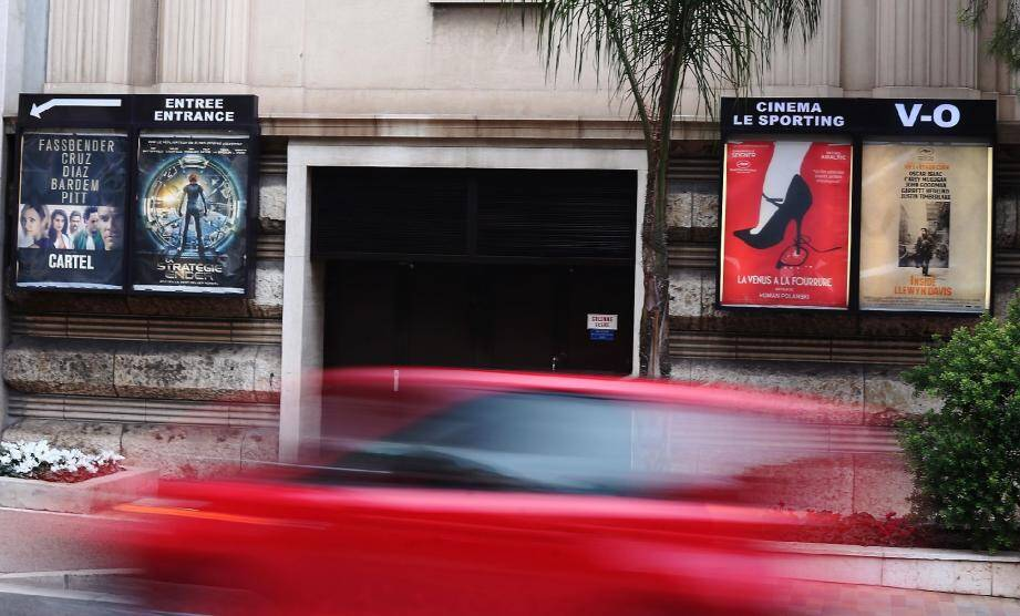 À l'affiche en septembre 2014 : le déménagement du cinéma au théâtre Princesse-Grace.