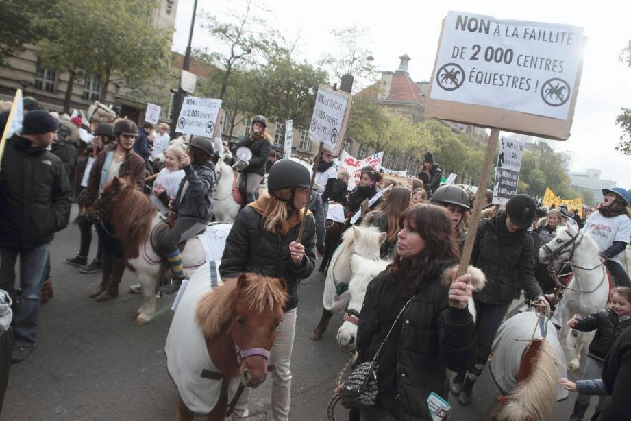 Avant-hier ils manifestaient à Paris. Dimanche, ils seront sur la Promenade des Anglais entre 9 et 15 heures.
