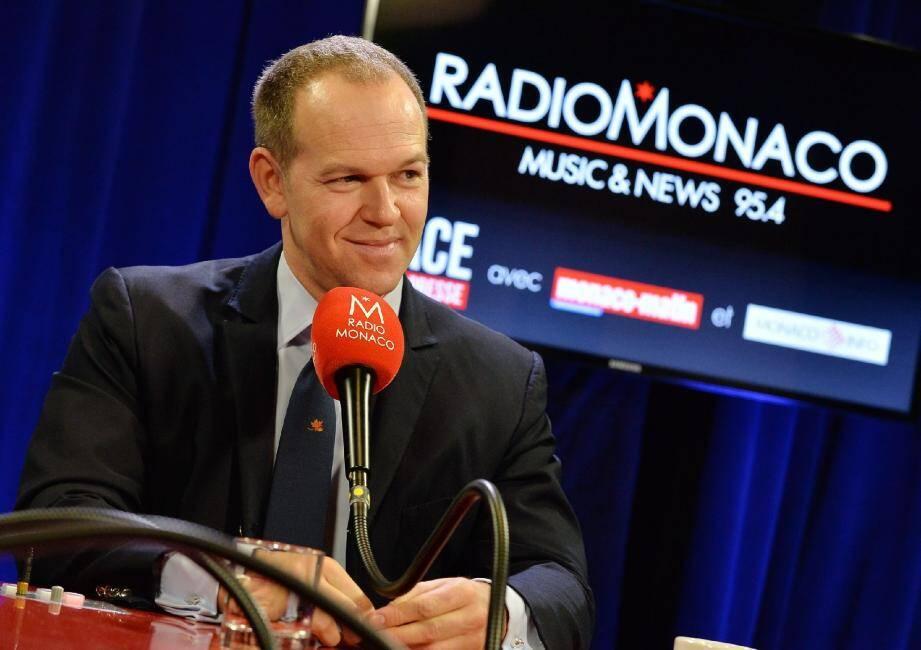 Laurent Nouvion était hier, entre 8 et 9 heures, en direct sur Radio Monaco.