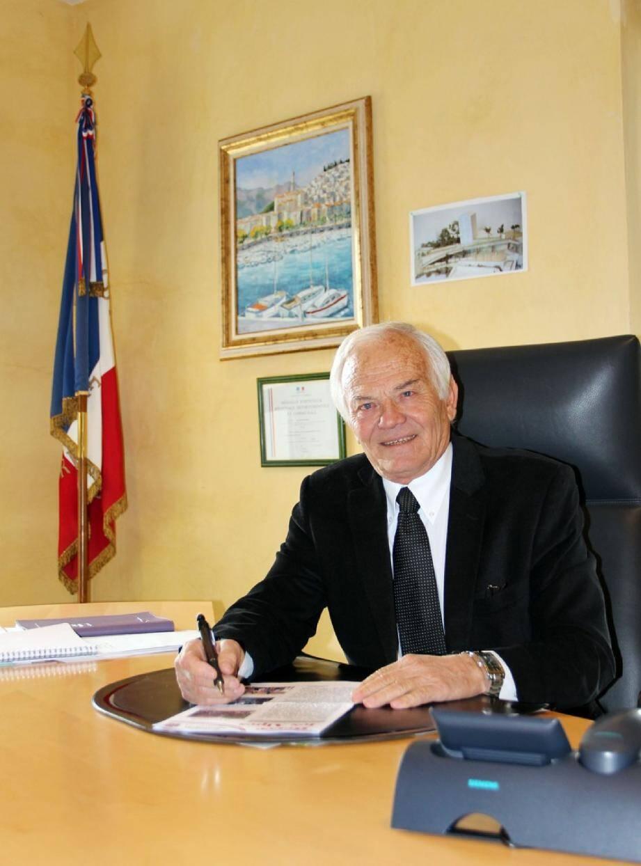 Le président de la liste « Maintien des traditions berroises », en lice pour 2014.
