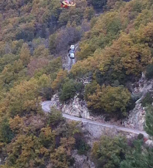L'hélicoptère de la Sécurité civile, Dragon 06, a été dépêché sur les lieux.
