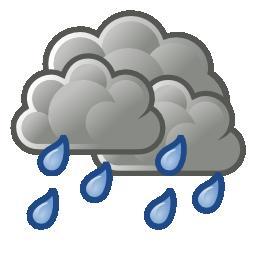 Illustration météo pluie