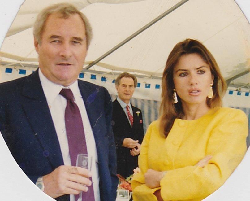 Gérard et Christine de Villiers du temps des jours heureux.