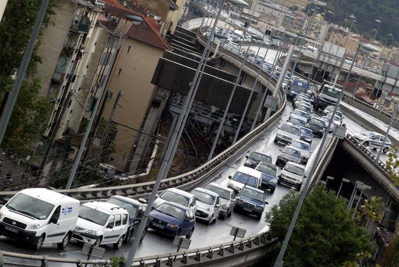 Nice, 4e ville la plus embouteillée de France