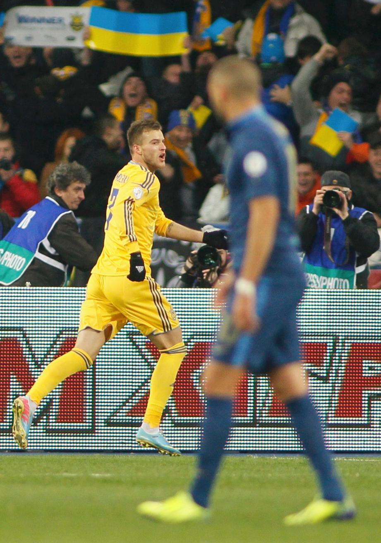 Karim Benzema s'incline devant l'euphorie des Ukrainiens.