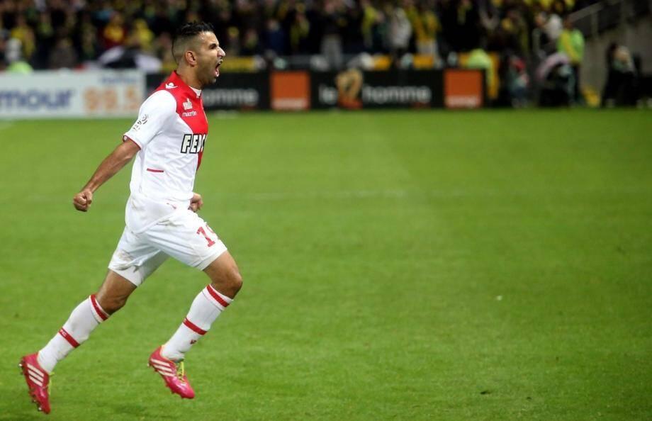 Mounir Obbadi a inscrit le but qui permet à l'AS Monaco de gagner à Nantes et de rester au contact du PSG et de Lille.