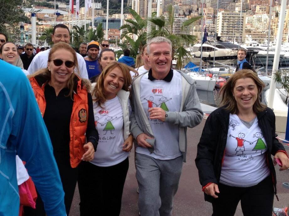 Didier Dechamps a couru pour la bonne cause, dimanche à Monaco. Et s'est confié longuement. Entretien complet lundi dans toutes les éditions du groupe Nice-Matin.