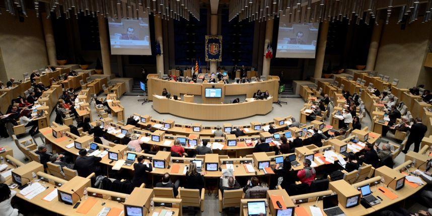 Le conseil régional Paca.