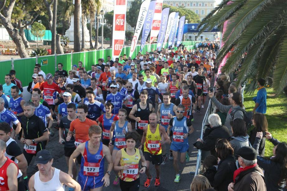 Un nouveau record de participation pour le 1er 10km de France.(Ph. R.R)