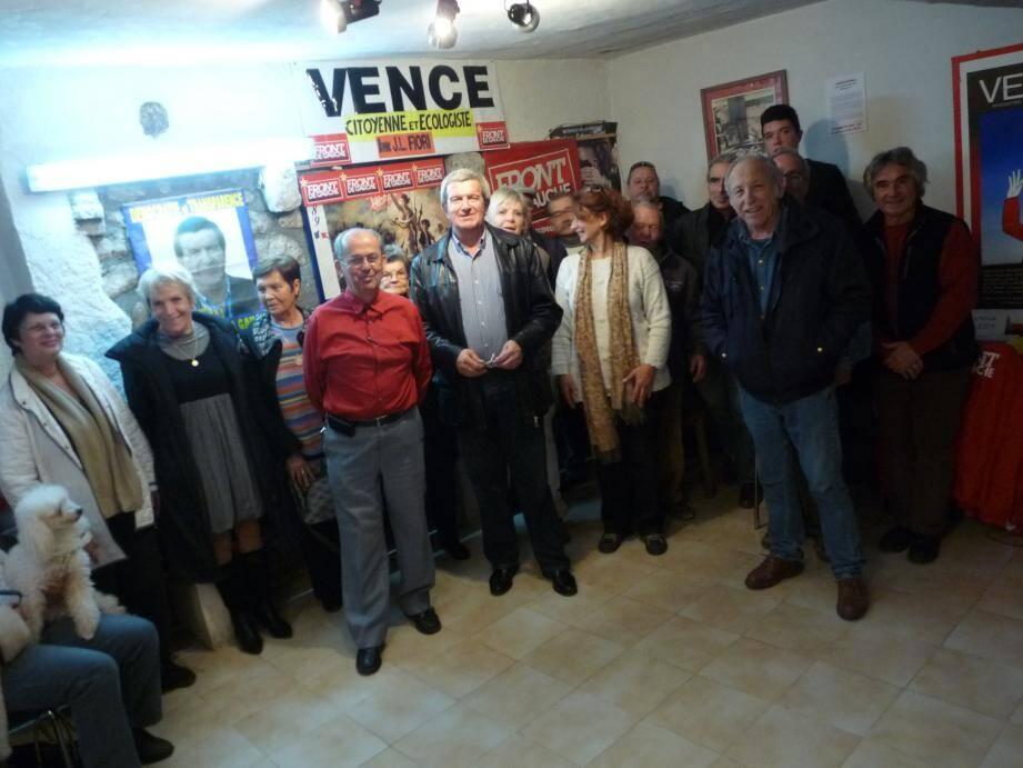 Jean-Louis Fiori et ses amis renvoient les candidats de droite dos-à-dos.
