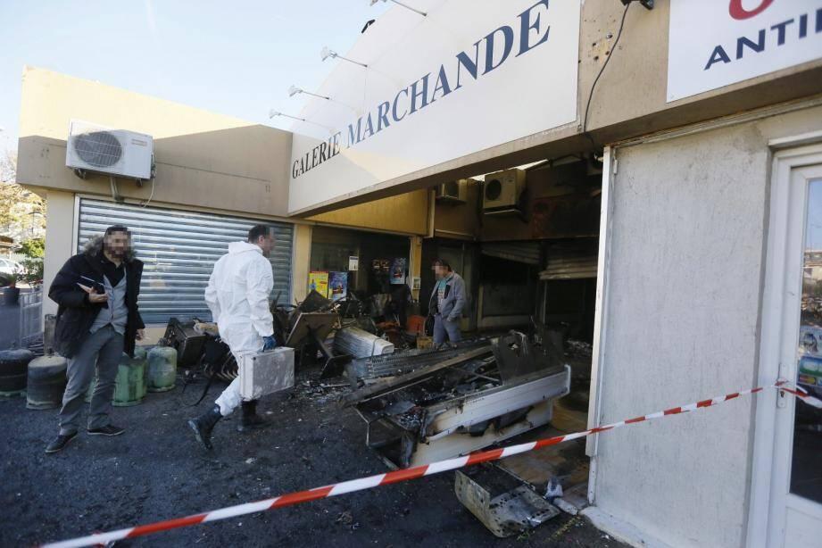 Un incendie ravage un snack à La Fontonne à Antibes