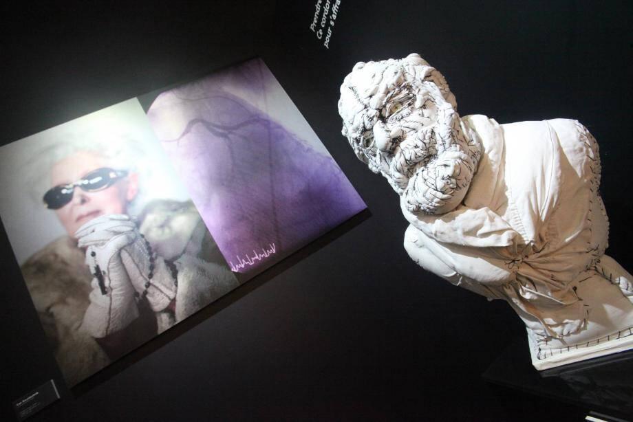 Victor Hugo version tissu cousu.