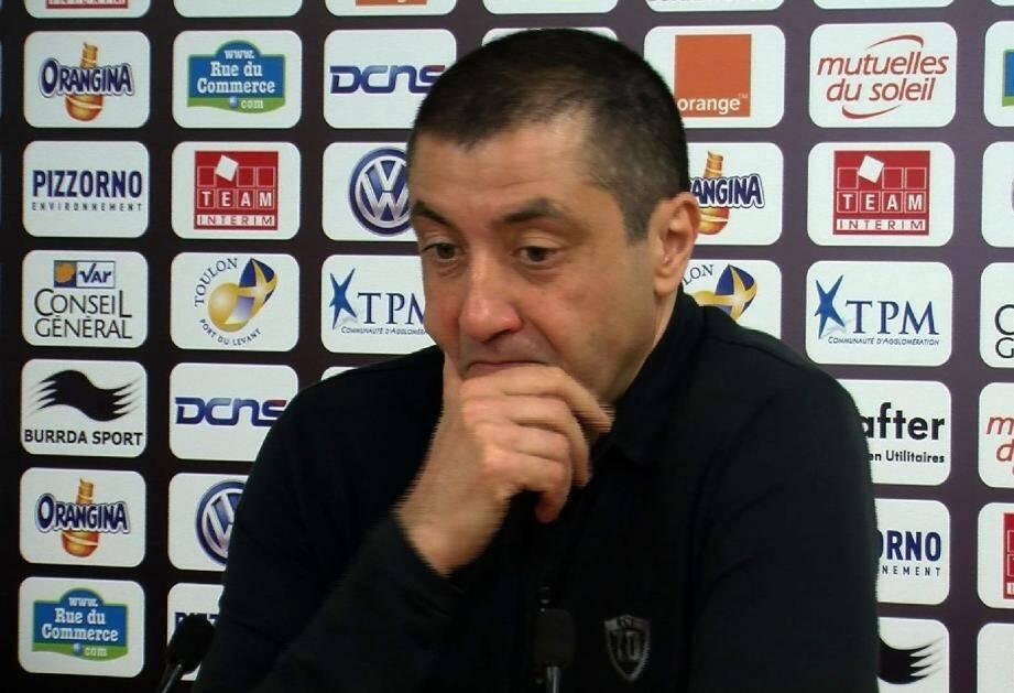 Bien que très affecté par cette défaite contre Grenoble à Mayol, le président du RCT refuse de dramatiser...
