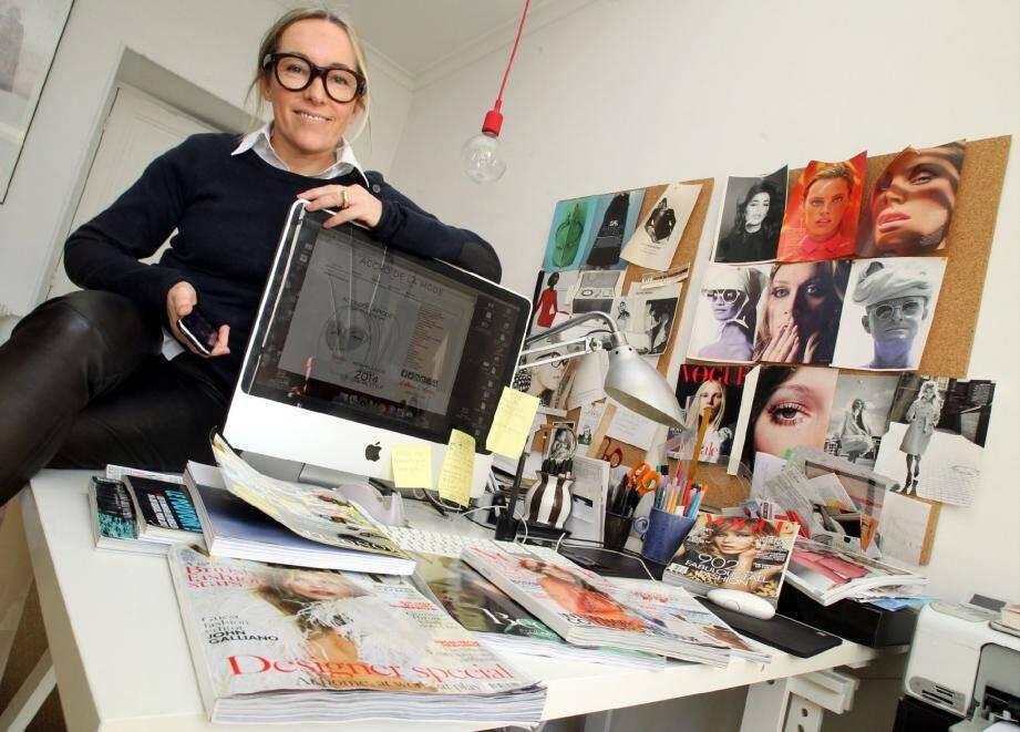 Isabelle Oziol de Pignol, une « Accro de la mode » à suivre avec attention.