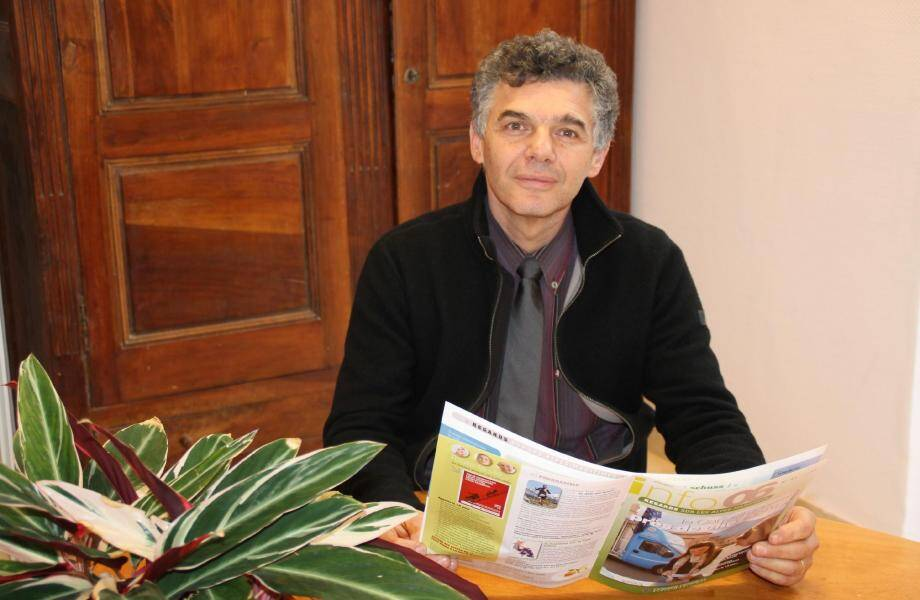 Eric Mèle, élu maire en 1995, sera candidat à sa réélection.