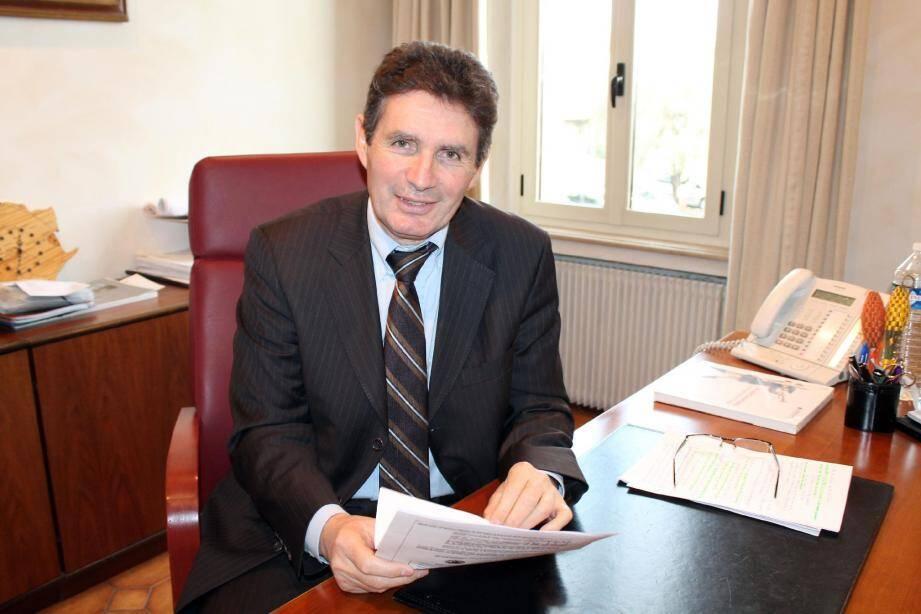 Depuis 1995, Gérald Lombardo est maire du village. Il entend poursuivre son action.
